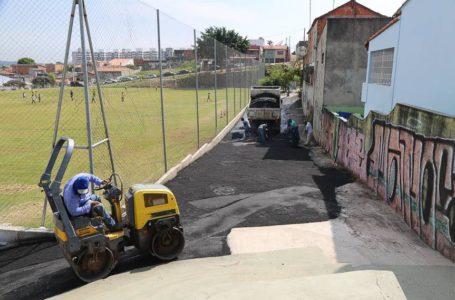 Ações de infraestrutura em Itupeva