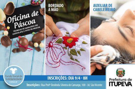 Novos cursos profissionalizantes abre inscrições em Itupeva