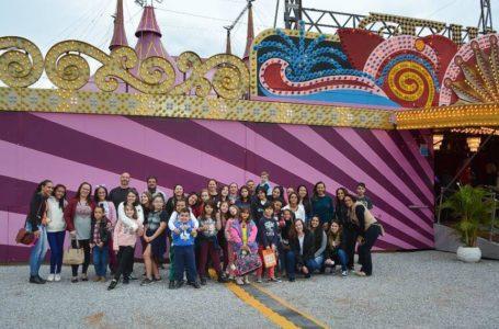 Alunos do Circo Social e de Ginástica visitam circos em Jundiaí