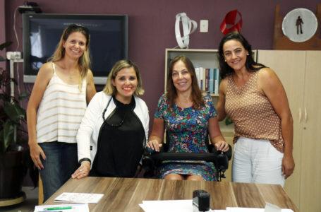 Tatiana Salles se encontra com Senadora Mara Gabrilli para pedir apoio às pessoas com deficiência no município