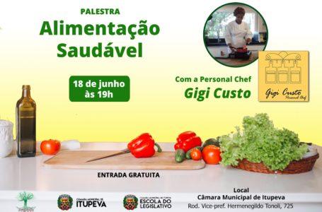 Câmara promove palestra sobre Alimentação Saudável no dia 18