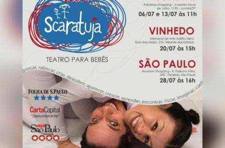SCARATUJA – teatro para bebês