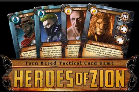 Escola ZION entra no campo de batalha e lança cardgame