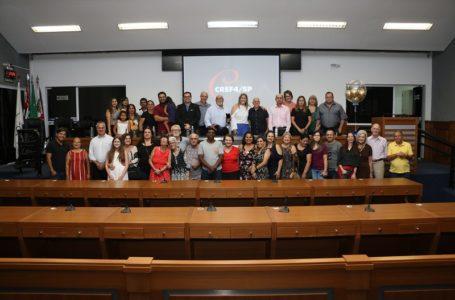 Emoção marcou homenagem a professores de educação física na Câmara de Itupeva