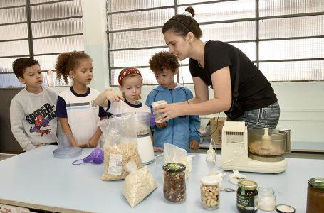 Escola municipal inova com oficina de alimentação saudável em Jundiaí