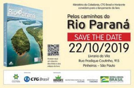 Livro interativo traz histórias e curiosidades sobre o rio Paraná