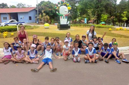 Estudantes de Itupeva visitam Parque da Cidade em Jundiaí