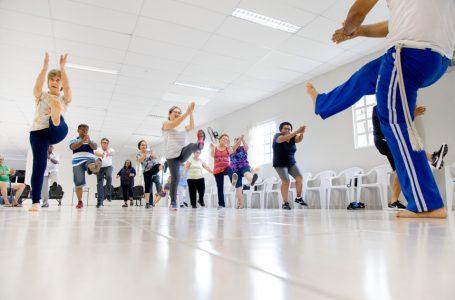 CCI de Itupeva: idosos demonstram alegria com início das aulas do Projeto Vem Gingar