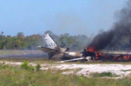 Vítima de queda de avião, ex-piloto de Stock Car é transferido para hospital especializado na BA com 80% do corpo queimado