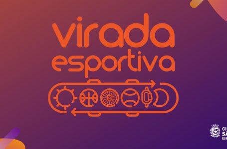 Virada Esportiva acontece dias 23 e 24 de novembro e ocupará todas as regiões da cidade