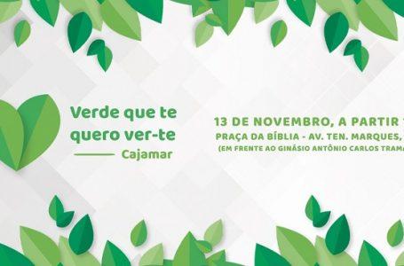 """Projeto """"Verde que te quero ver-te"""" acontece dia 13 em Cajamar"""