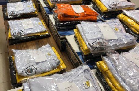 Prefeitura entrega novos uniformes aos Agentes de Trânsito em Cajamar