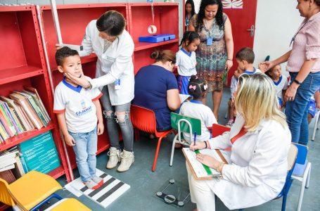 Saúde desenvolve o Programa Crescer Saudável com as crianças do município em Cajamar