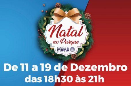 Natal no Parque terá início na próxima quarta (11) em Itupeva