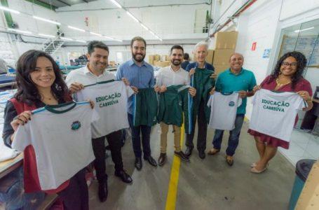 Em ação inédita, 7 mil alunos receberão uniforme escolar em Cabreúva
