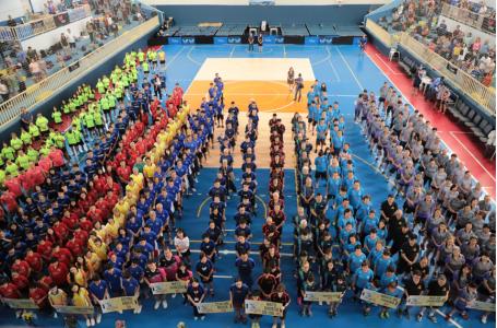 Abertura oficial do Intercolonial reúne mais 1.300 pessoas no Ginásio Municipal de Esportes em Itupeva