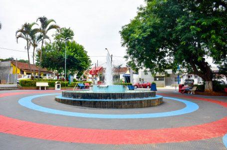 Prefeitura revitaliza Praça da Lavrinha, no Centro em Cajamar