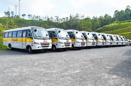 Prefeitura de Cajamar reestrutura frota escolar com 15 novos veículos