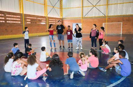 Gincana de Férias agita o Ginásio de Esportes do Parque das Hortênsias em Itupeva