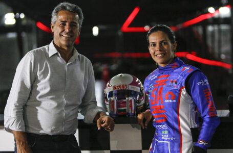 Mulheres aceleram no kart com a piloto Kaká Magno e compartilham suas histórias de superação