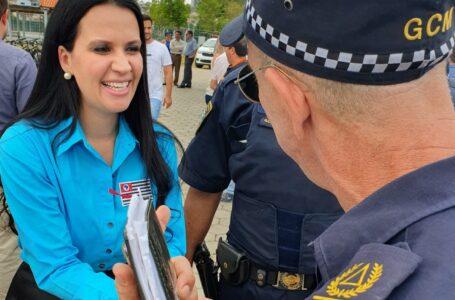 Dep. Leticia Aguiar pede que Guardas Municipais também tenham vacinação antecipada