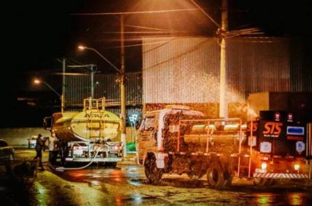 Coronavírus: Primeira etapa de desinfecção de ruas será concluída nesta quinta (26) em Itupeva
