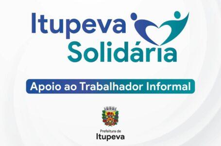 Programa Itupeva Solidária: Prefeitura cria auxílio cesta básica para trabalhadores informais