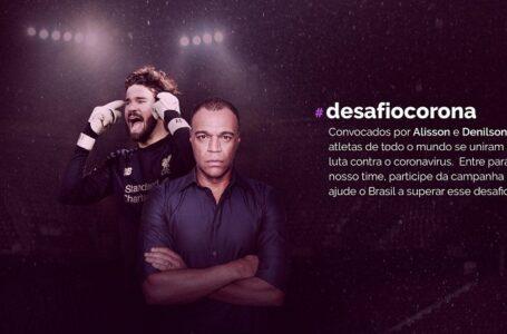 Desafio Corona: estrelas do futebol se engajam na luta contra covid-19
