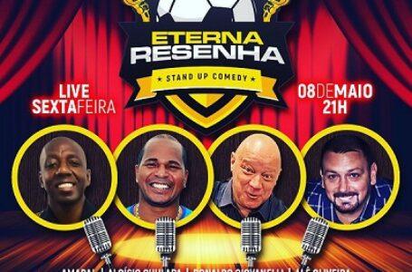 Amaral, Aloísio Chulapa, Ronaldo Giovanelli e Alê Oliveira comandam o show em prol de doações