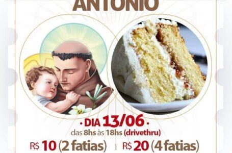 Paróquia no anhangabaú terá drive thru para entrega do bolo de Santo Antônio em Jundiaí