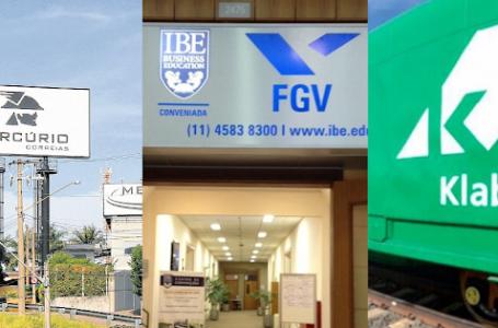 Correias Mercurio, Klabin e FGV tão com oportunidades de emprego em Jundiaí (03/07/2020)