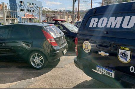 Muito + Segurança: Câmera de monitoramento flagra veículo roubado em Cajamar