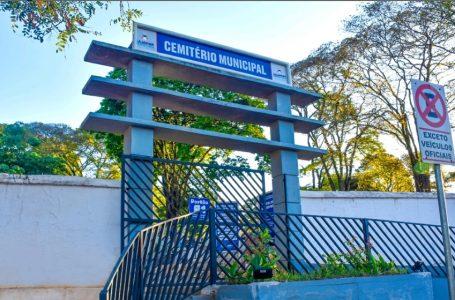 """Cemitério de Cajamar estará fechado para visitação no """"Dia dos Pais"""""""
