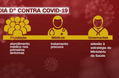 Governo planeja 'Dia D' contra Covid-19 com kit que inclui hidroxicloroquina